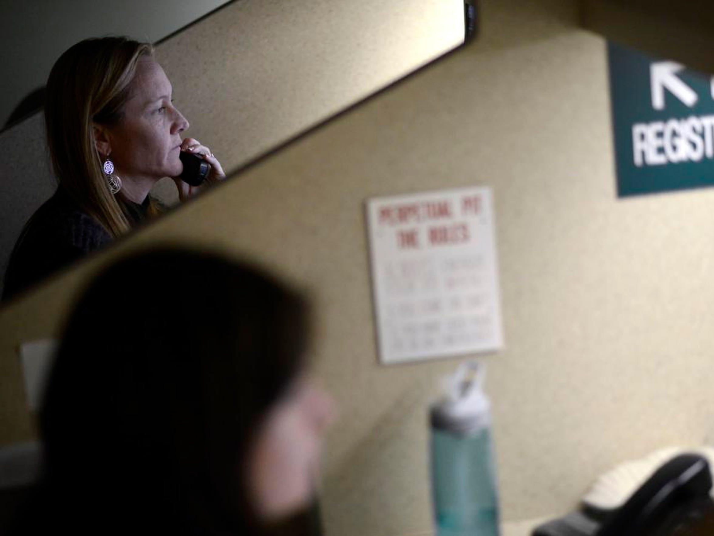 Donna Skigen, a mental health clinician, coordinates