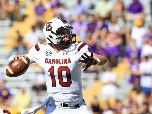 NCAA Football: Louisiana State at South Carolina