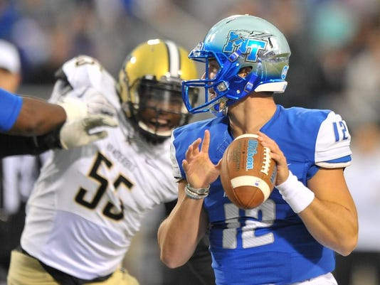 NCAA Football: Vanderbilt at Middle Tennessee