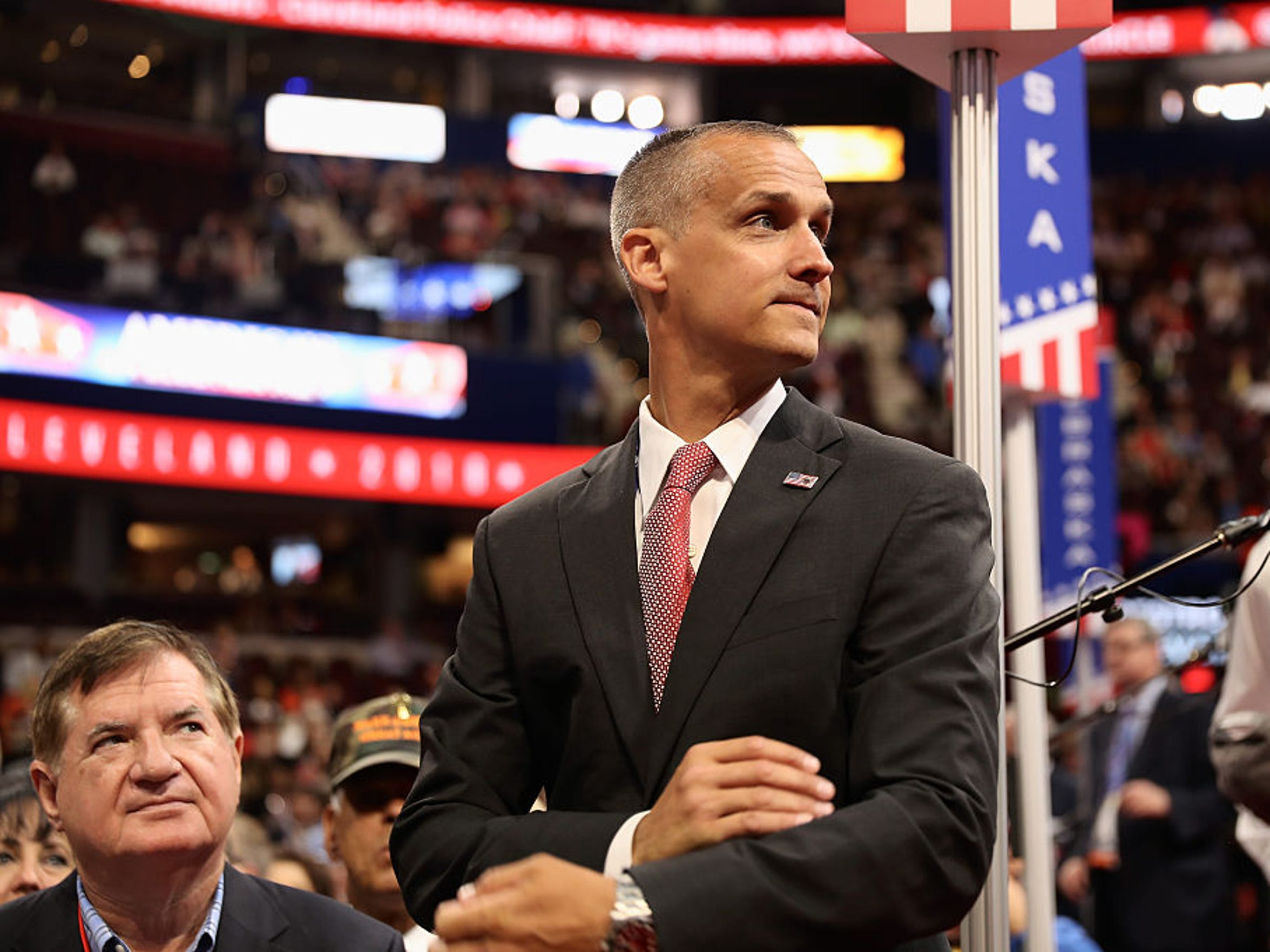 Corey Lewandowski, former campaign manager for Donald
