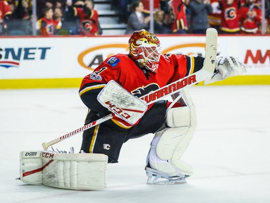 USP NHL: PITTSBURGH PENGUINS AT CALGARY FLAMES S HKN CGY PIT CAN AL