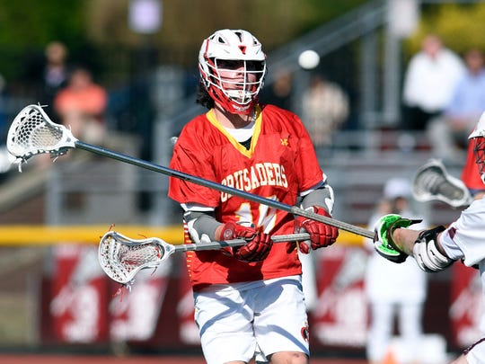 Jack Vinci scored four times for one of his best offensive games this season during Bergen Catholic's win over St. Joseph.