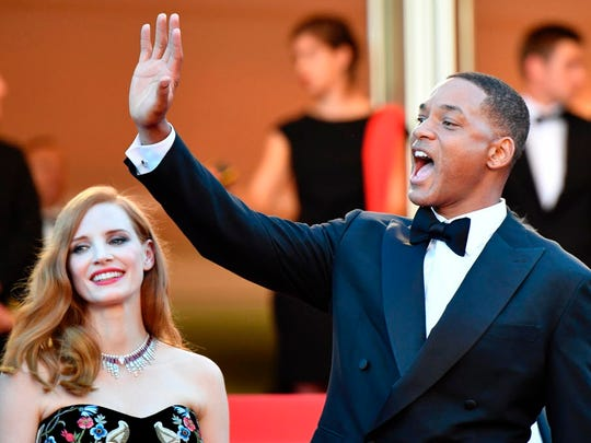 The Cannes crowds were thrilled to see Will Smith,
