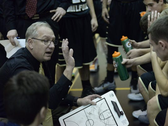 John Finke, West Milford boys basketball coach