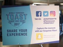 2017 Toast Readers' Choice Award Ceremony