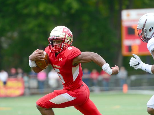 Bergen Catholic running back Josh McKenzie is sidelined with a knee injury.