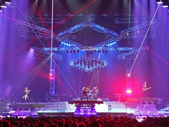 Lasers and pyro abound during Trans-Siberian Orchestra's