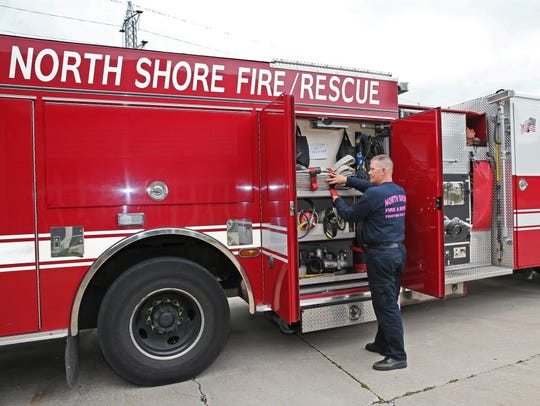 The North Shore Fire Department responded to a house fire at 6251 N. Bay Ridge Ave. in Whitefish Bay at 2:02 a.m. Sunday, Feb. 24.