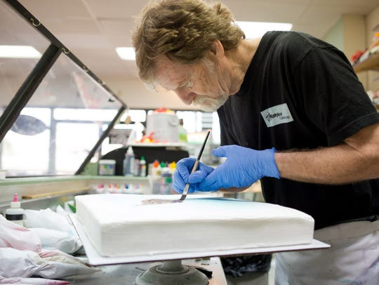 Jack Phillips, owner of Masterpiece Cakeshop in Lakewood,
