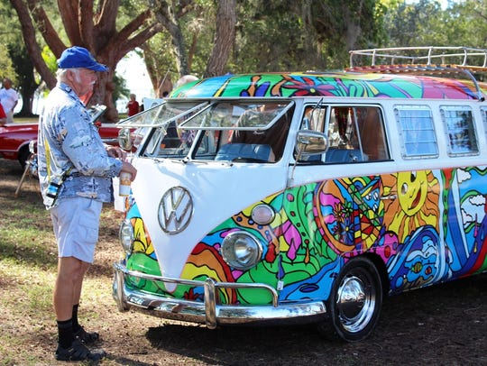 This VW van was part of the 2017 Cape Coral Charity