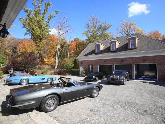 Bedford estate with 16 car garage