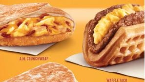 Taco Bell has added several new breakfast items to its menu.