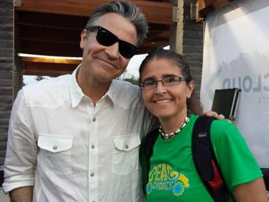 Movie addict Melissa King met Martin Zellar on July