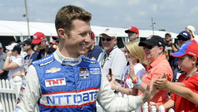 """Ryan Briscoe and his family are moving to Connecticut because his wife, Nicole, is taking a job on ESPN's """"SportsCenter."""""""