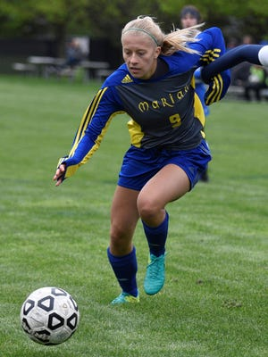 Jansen Eichenlaub and her Marian teammates head into the Division 2 tournament as the defending state champion.