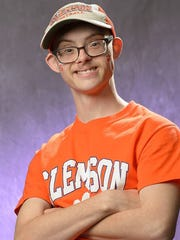 Dalton Cron, 19, is headed to ClemsonLIFE this coming