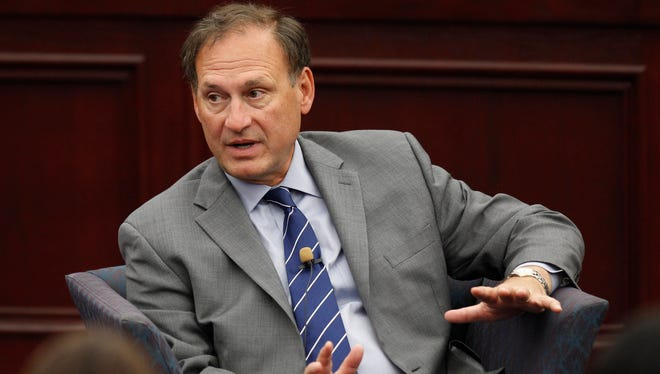 Justice Samuel Alito wrote the majority opinion in the religious freedom case.