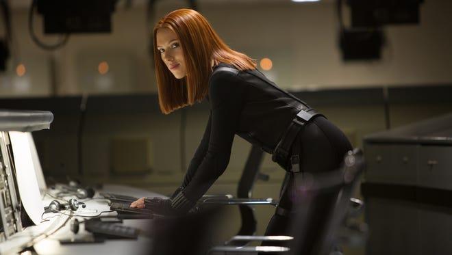 Scarlett Johansson plays Black Widow in 'Captain America: The Winter Soldier.'