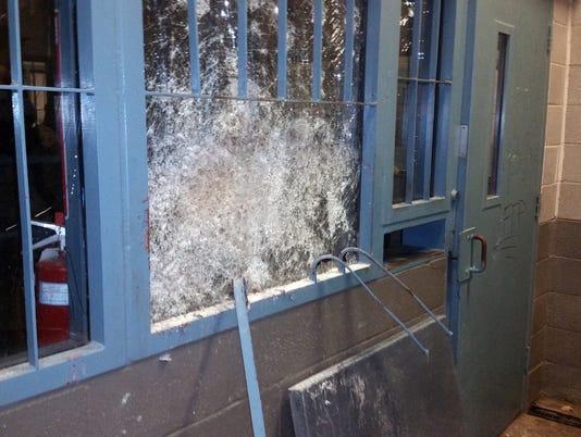 Damage after Kingman prison riots