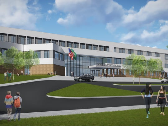 A rebuilt Central Kitsap Middle School will adhere