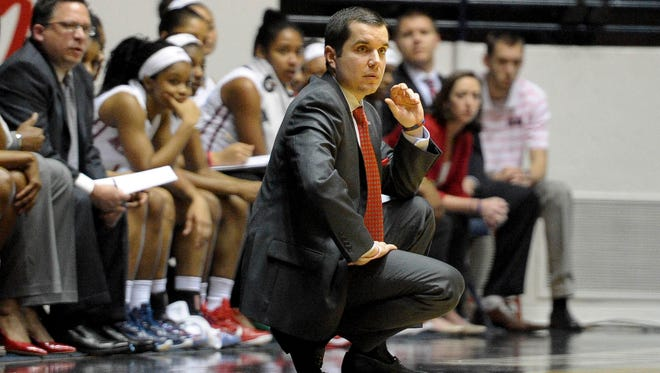 Ole Miss women's basketball coach Matt Insell believes his team is growing up while playing against several challenging Southeastern Conference opponents.