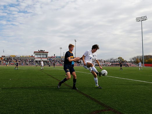 Brookfield Central's Nate Verhagen and Marquette University