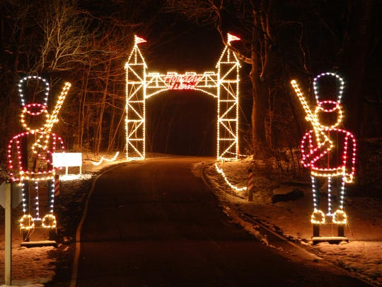 Holiday in Lights at Sharon Woods.