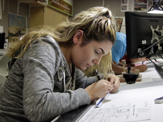 College of the Sequoias architecture student Karina