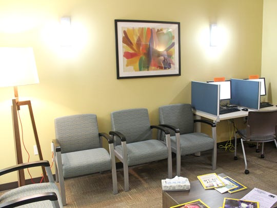 The new, east side University of Iowa Counseling Service