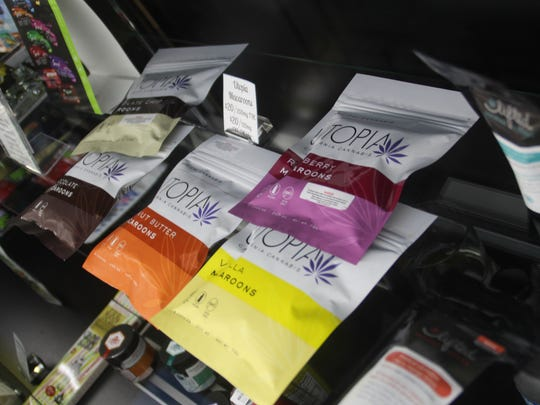Marijuana edibles for sale at Monterey Bay Alternative Medicine