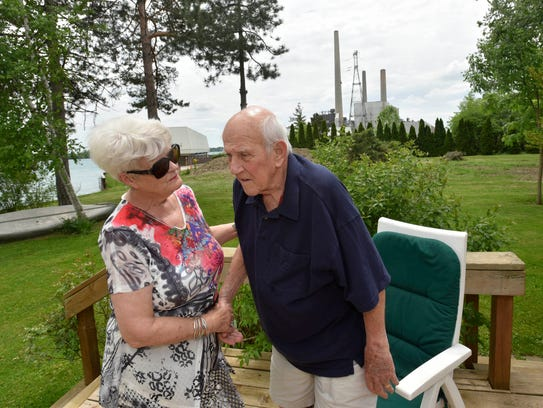 Sandy Attebury, 71, and her husband Fred Attebury,
