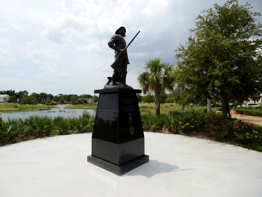 Pensacola's Veterans Memorial Park has a new Revolutionary War monument and a computerized kiosk that can help find names among the 58,000 listed on the Vietnam War wall.