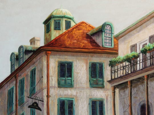 """""""Napoleon House, New Orleans"""" by Candy Mayer, part"""