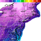 Wind gusts will get up to 45 miles per hour in parts of New Jersey, meaning temperatures with the wind chill could be -15 to -30 degrees/