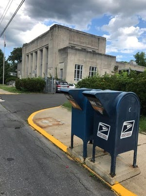 """The assault on the US Post Office has reached Stroudsburg. In the last couple of days, one of the three mail boxes that have stood in front of the Stroudsburg Post Office as been removed. It is anyone's guess how long the other two will remain. In past years, during high volume mail seasons such as tax season and the Christmas rush, the original three boxes typically were """"stuffed to the gills"""". The projected rush during this year's mail-in voting in November will prove interesting."""