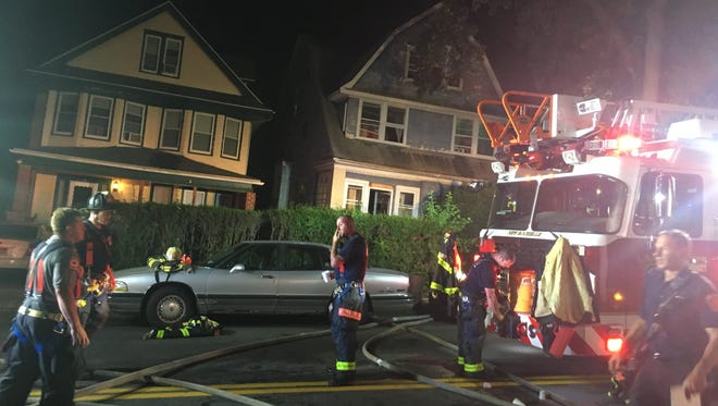No injuries were reported after a fire at 172 Lockwood Ave. in New Rochelle, August 27, 2016.