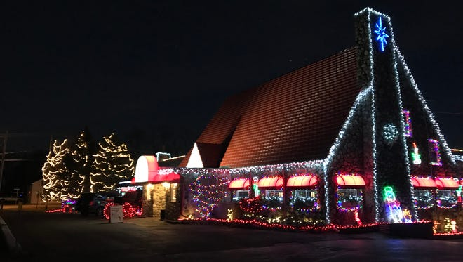 The Red Osier used more than 2 million lights in its 2017 display.