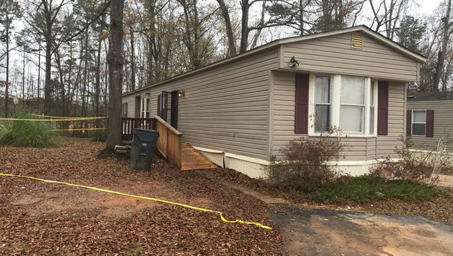 Eric Jones, 34, was found dead at this residence in Simpsonville.