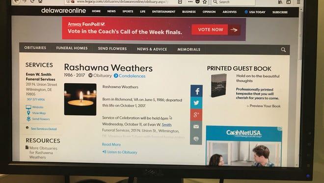 Rashawna Weathers