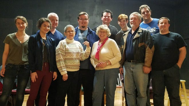 The cast of the upcoming Twin Lakes Playhouse production of Arsenic and Old Lace.