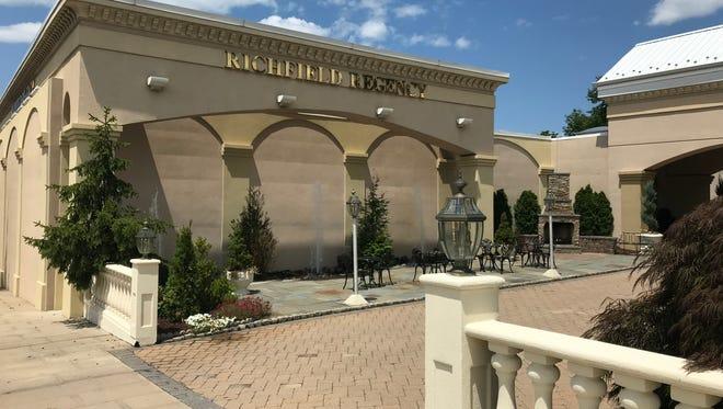The main entrance to Richfield Regency, 420 Bloomfield Ave. in Verona.