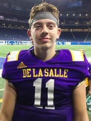 De La Salle quarterback Luke Pfromm threw for 320 yards