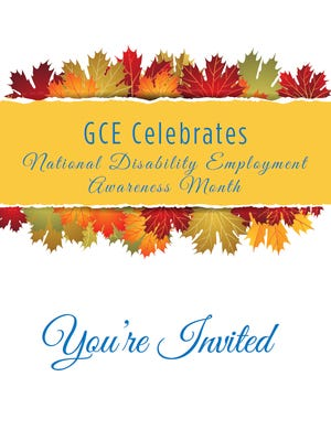 GCE of Lakeview Center is inviting the public to join them for the 5th Annual National Disability Employment Awareness Month Employee Appreciation Picnic on Friday, Oct. 23.