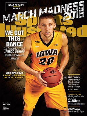 Jarrod Uthoff on this week's SI cover.