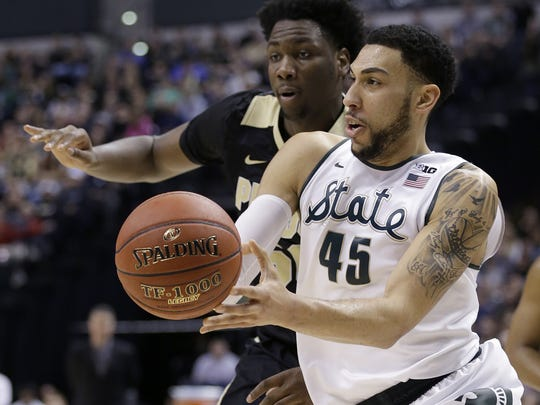 Could the Pacers nab Michigan State's Denzel Valentine at the No. 20 spot?