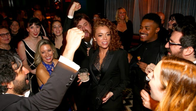 WASHINGTON, DC - APRIL 28:  Michelle Wolf attends the Celebration After the White House Correspondents' Dinner hosted by Netflix's The Break with Michelle Wolf on April 28, 2018 in Washington, DC.  (Photo by Tasos Katopodis/Getty Images for Netflix) *** Local Caption *** Michelle Wolf