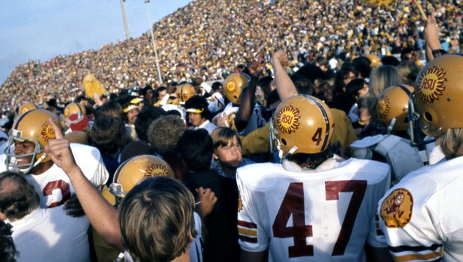 Over 1970-75, the Sun Devils lost a combined nine games, a six-year run with bookend undefeated seasons and culminating with the highest postseason national ranking in school history: No. 2.