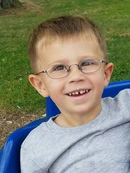 Jack Heiligman, 3, of Webster died in a lawnmower accident in October 2016.