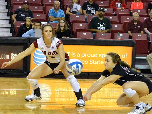 NMSU volleyball
