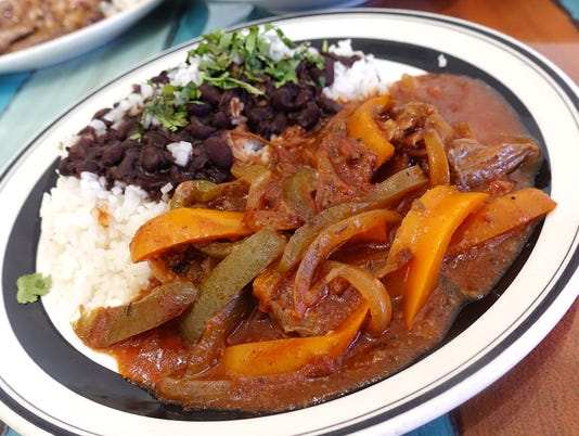 Ropa vieja at The Latin Kitchen
